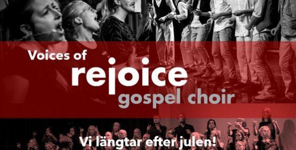 Julglädje med Rejoice Gospel Choir!