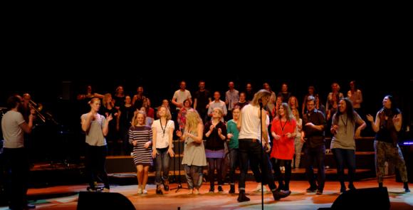 Inträdesprov till alla stämmor i rejoice gospel choir 10 september
